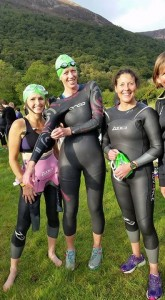 Group shot of triathlon