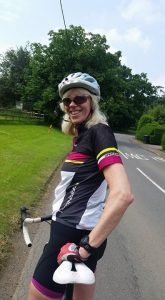 """Pleased as """"Punch"""" to be back on the bike !"""